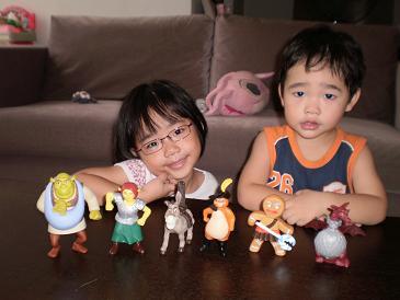 Shrek 3 Toys
